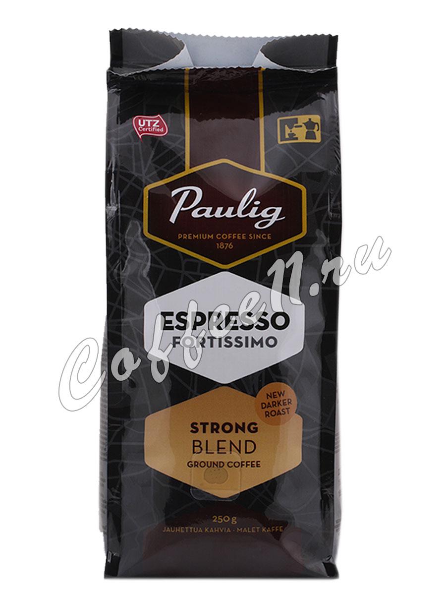 Кофе Paulig (Паулиг) Espresso Fortissimo молотый 250 гр