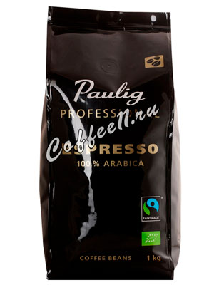 Кофе Paulig Professional Espress в зернах 1 кг