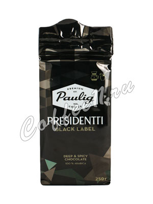 Кофе Paulig (Паулиг) Presidentti Black Label молотый 250 гр