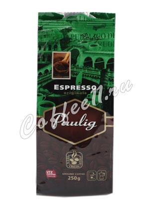 Кофе Paulig Espresso Originale в зёрнах 250 гр
