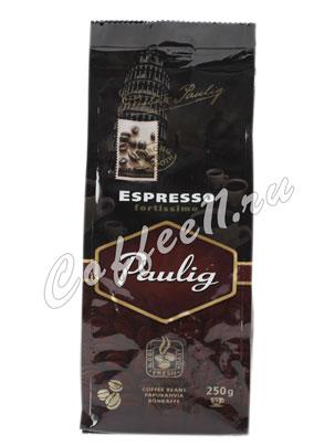 Кофе Paulig Espresso Fortissimo в зернах 250 гр