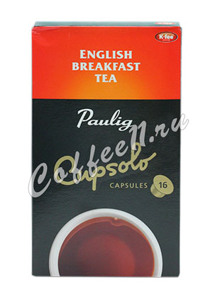 Paulig в капсулах English Breakfast Tea